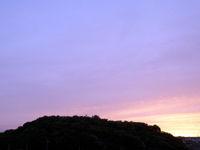 05月31日 根岸台の夕陽