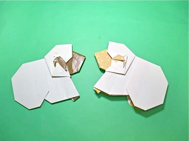 折り紙の 折り紙 羊 簡単 : blog.goo.ne.jp