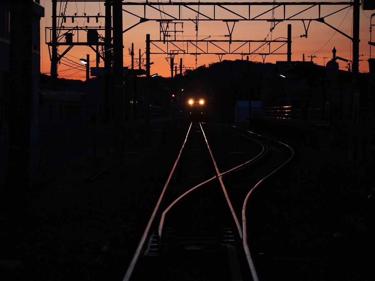 鉄路の輝きの画像