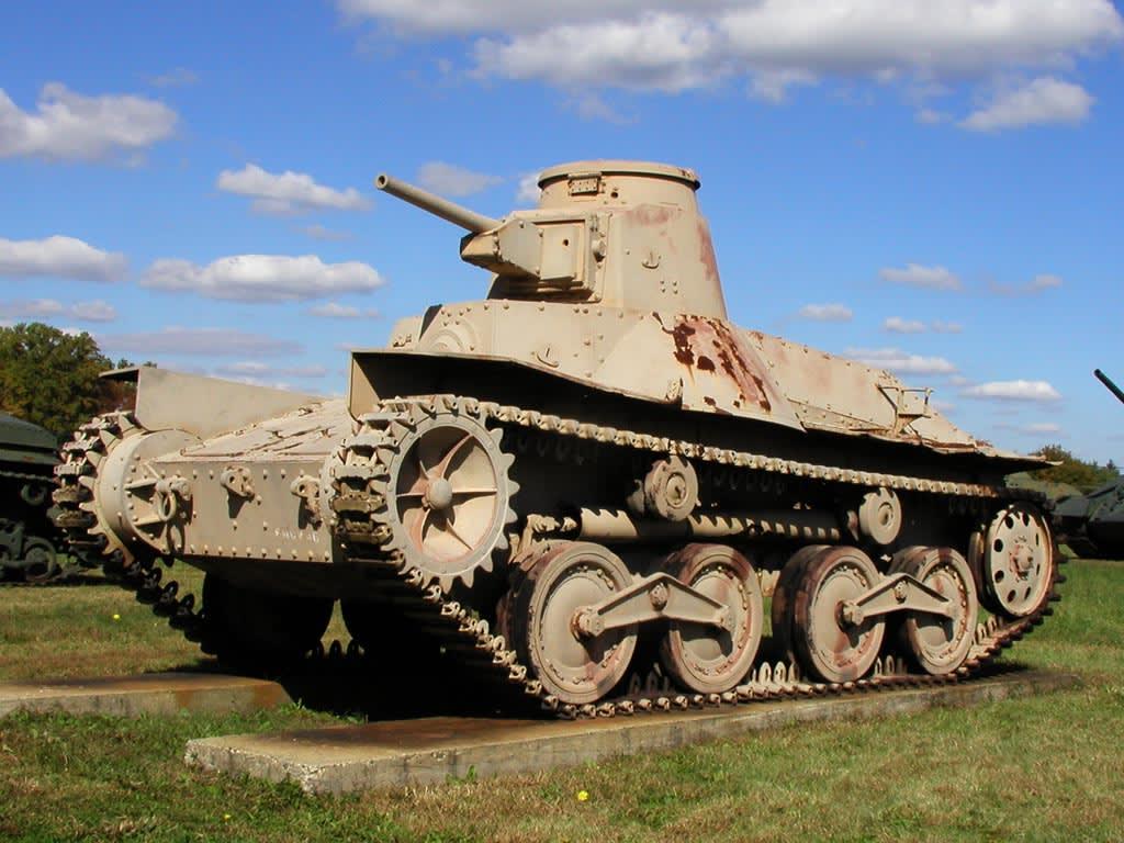 九五式軽戦車の画像 p1_36
