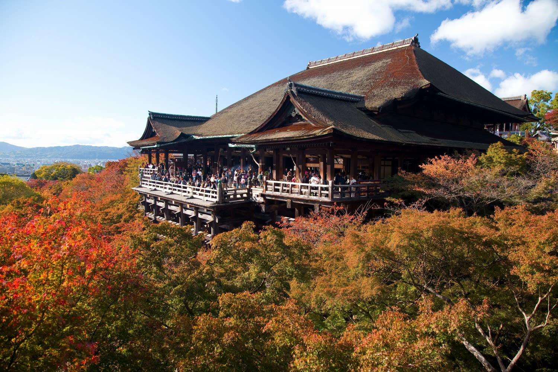 清水寺の紅葉 - まさかのきまぐれ雑記帳