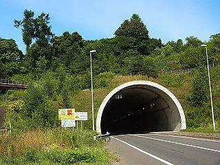 三豊トンネル 太平洋側出口