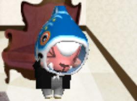 鯉のぼりスタイルはお嫌いですか?泣く、ひつじのしつじくん