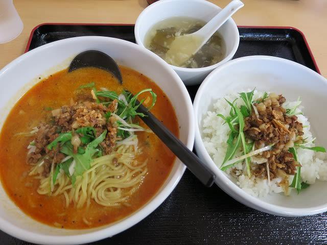 天使担々麺(醤油)Cセット