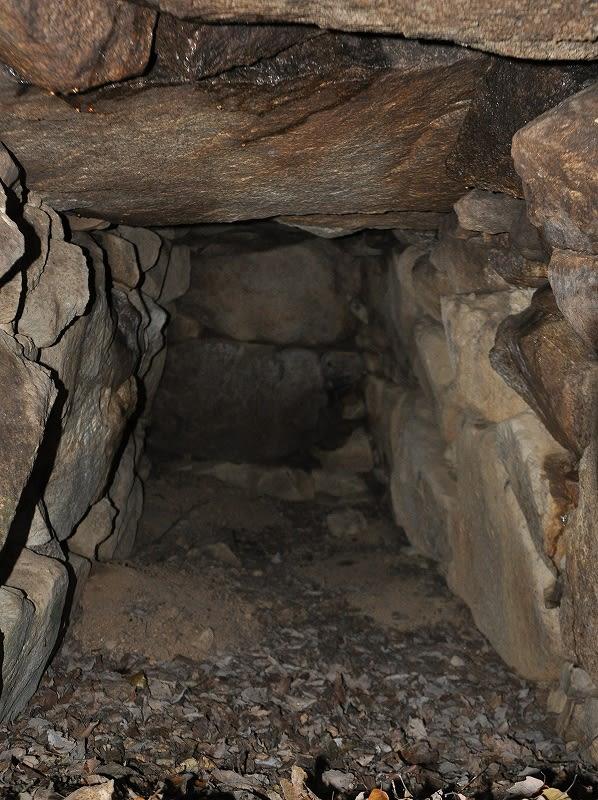 竜王山12C-46石室内