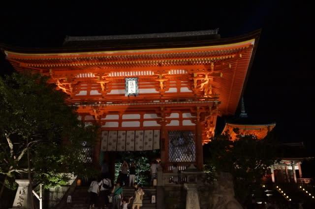 音羽山 清水寺「千日詣り」に行ってきました〜(^^)