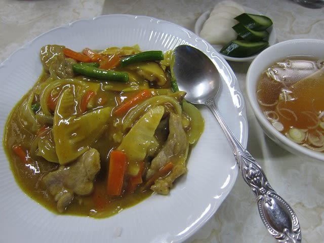 中華風カレーライス