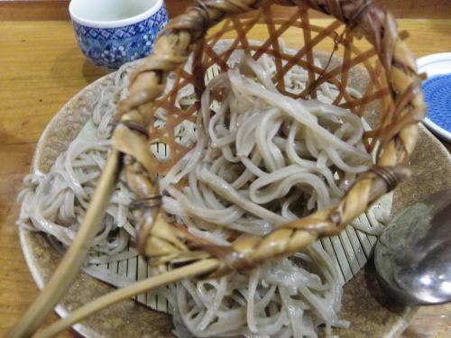 奈川福伝の投汁蕎麦