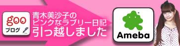 青木美沙子のピンクなラブリー日記はgooブログからアメーバブログに引っ越しました。