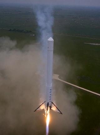 """今回の飛行は、YouTubeに動画が投稿されて初めて明らかになったんで... 再使用ロケット """""""