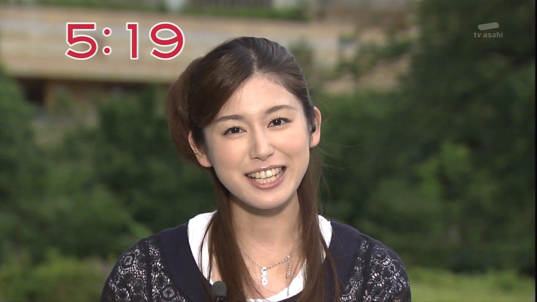 前歯が特徴的な加藤真輝子