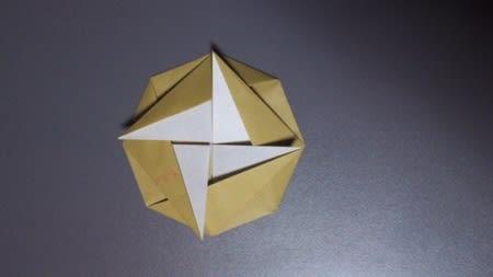 ハート 折り紙 折り紙 メダル 1枚 : blog.goo.ne.jp