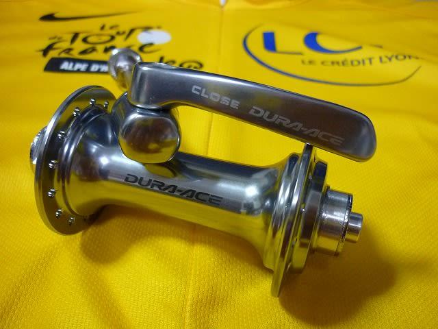 自転車の 自転車 ハブ ベアリング サイズ : 回転部分を指先で回すと DURA ...