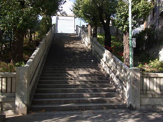 「氷川神社 階段」の画像検索結果
