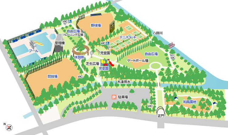 明日は朝宮公園で春日井クラブを...