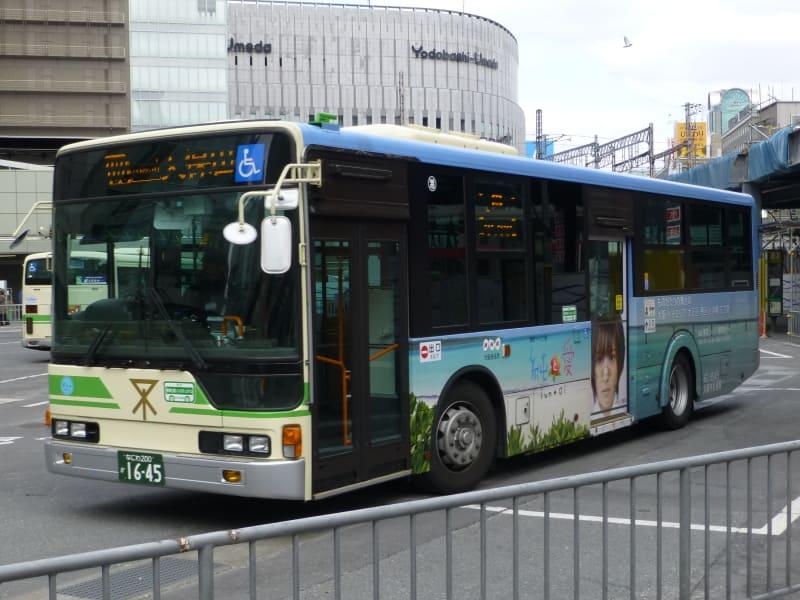 このバスは、大阪市交通局のエアロスターノンステ(局番:62-1645、... スーパーT部長の身