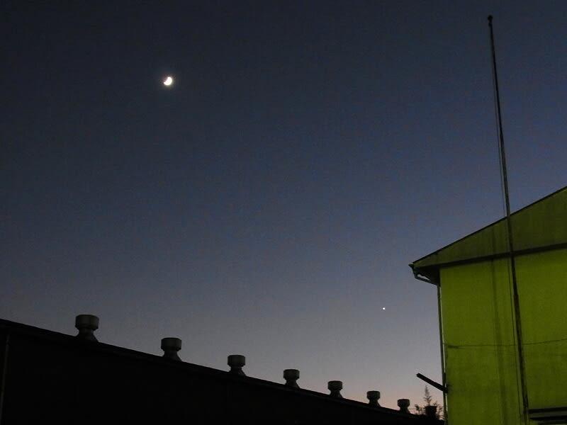 11月05日 月と金星