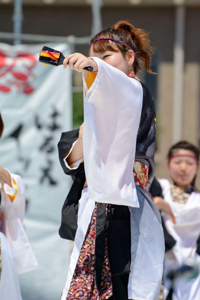 """仁愛大学""""我楽"""" 第11回はるえイッチョライでんすけ祭り"""