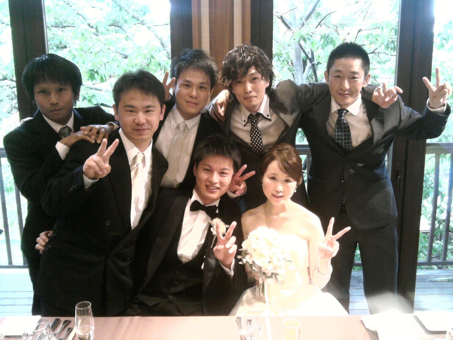 結婚式 友人」.
