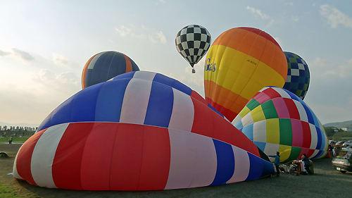 佐久バルーンフェスティバルの熱気球