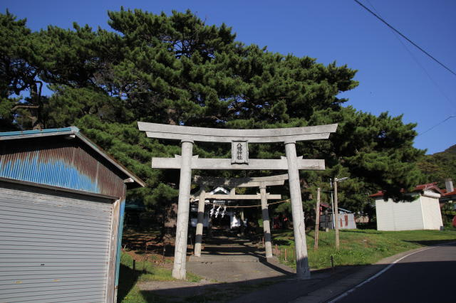 石崎八幡神社/北海道上ノ国町(Ishizaki Hachiman Jinja,Kaminokuni ...