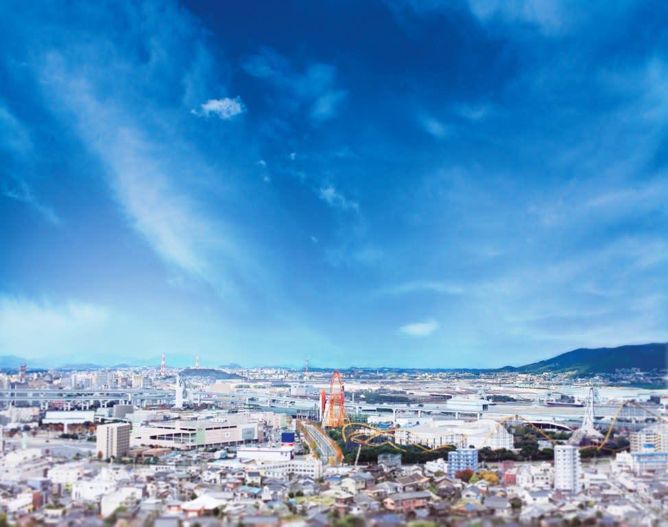 誠光園からの眺めです。