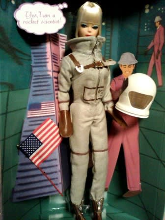 astronaut barbie 1965 - photo #20