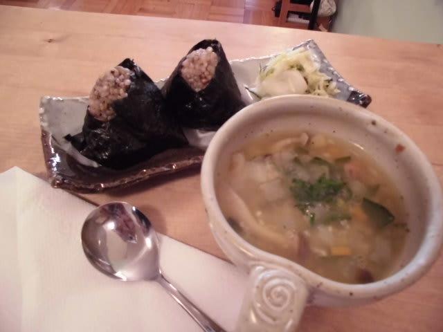 コーチング特別講座 玄米おにぎりとお野菜たっぷりスープ付き〜!