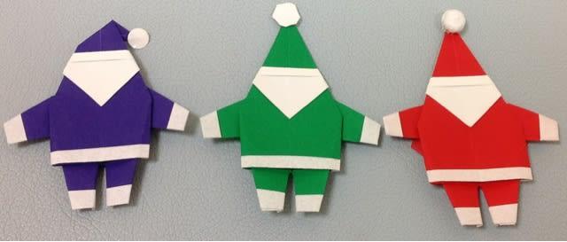 クリスマス 折り紙 サンタクロース 折り紙 : blog.goo.ne.jp