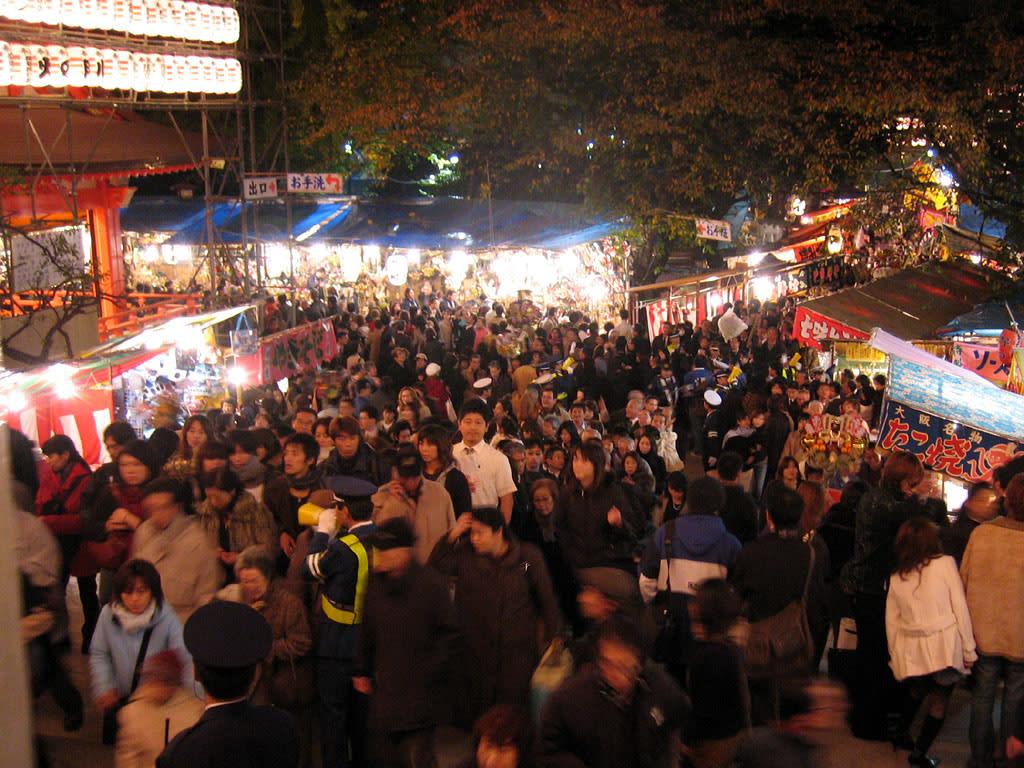 新宿のお祭り (花園神社酉の市) - 一庵 (ひとつあん)