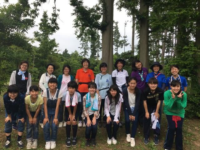 2017 県連盟シニア・レンジャーキャンプを開催しました