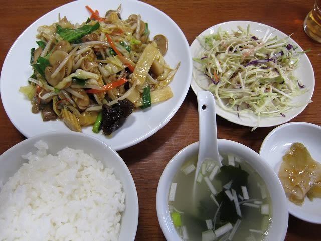 野菜炒め定食 width=