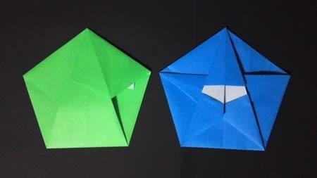 ハート 折り紙 折り紙 六角形 折り方 : blog.goo.ne.jp
