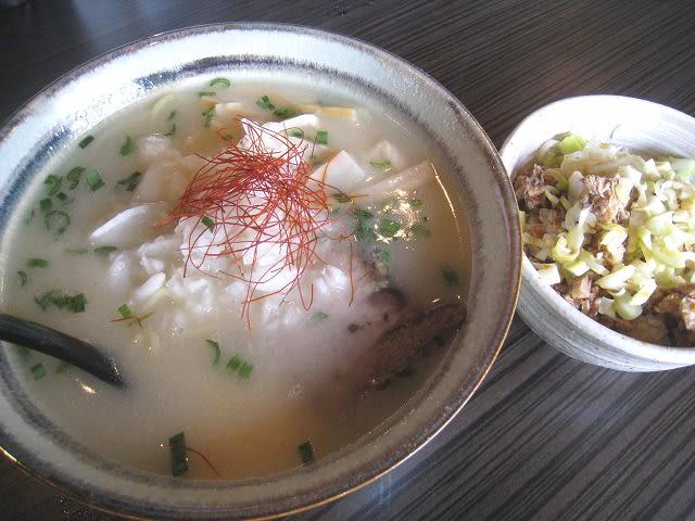 塩ラーメン+ミニチャーシュー丼