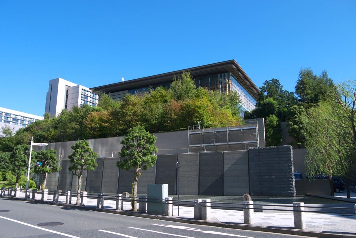 11月の霞が関:山王坂~国会議事堂裏~総理大臣官邸正門まで - 緑には、東京しかない