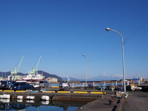 小川港の富士4