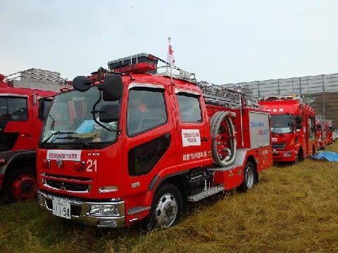 平成23年度緊急消防援助隊近畿ブロック合同訓練に参加しました。 - 撮れたて箕面ブログ