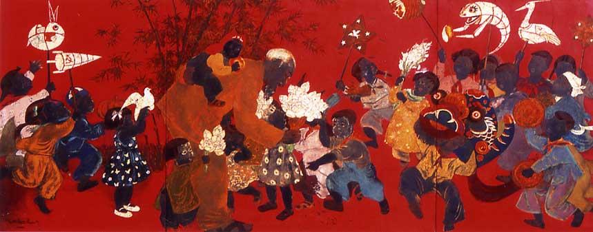 「ベトナム近代絵画展」 東京ステーション・ギャラリー 2005年11月5...  気になるきにな