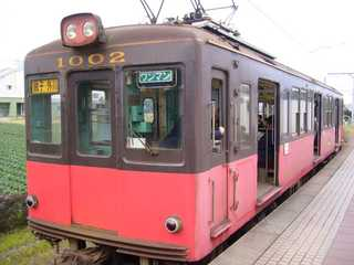 銚子電鉄デハ1002