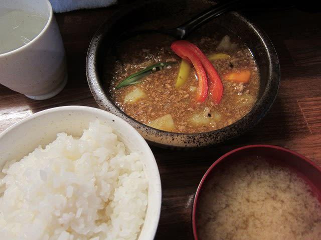 日替わり定食(スープカレー)