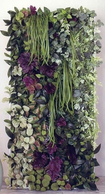 壁 フェイクグリーン 造花
