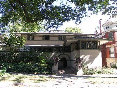 アエリカ合衆国・シカゴのフランク・ロイド・ライトの自邸のあるオークパーク