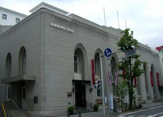 国の登録有形文化財である旧第一勧業銀行松本支店