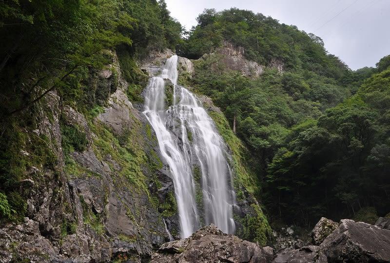 千尋の滝渓谷