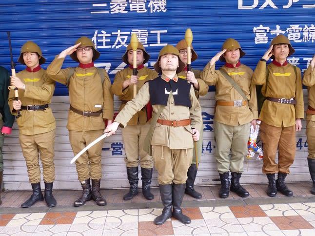 統率の取れたコスプレ集団! ジオン兵って・・何か物悲しくなる 「ギルテ... 第9回日本橋ストリ