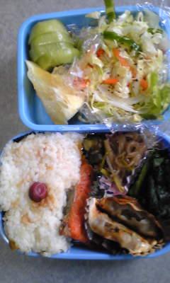 今日のお弁当[寿司ご飯]