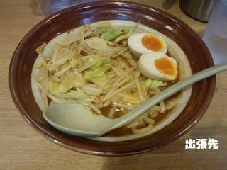 割スープ付き! 新潟の味噌らーめん♪ ラーメン東横 京都駅ビル店 @京都拉麺小路