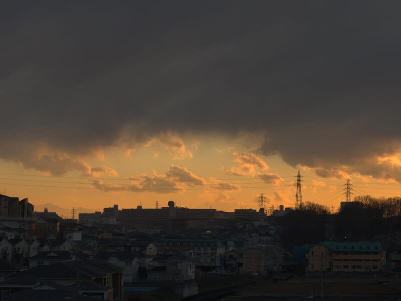 03月07日 朝霞方向