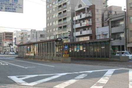 広島電鉄 宇品線 「広電本社前 ...