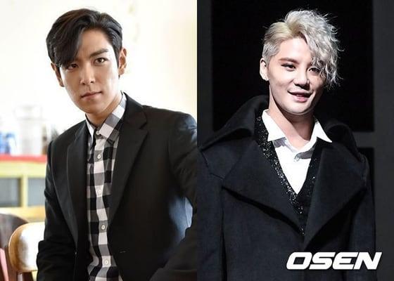 ジュンス、JYJ、T.O.P、BIGBANG